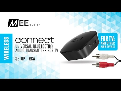 MEE audio Connect RCA Setup Guide