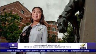 Nữ sinh gốc Việt Kassidy Võ tốt nghiệp đại học Chapman với bằng tiến sĩ dược
