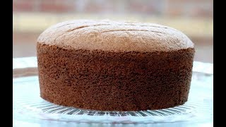 How To Make Soft Chocolate Sponge Cake