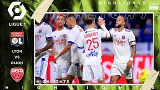 Lyon 4 - 1 Dijon - HIGHLIGHTS & GOALS - 8/28/2020