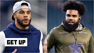 The Cowboys can't give Dak, Zeke and Amari Cooper max contracts this season – Carpenter   Get Up