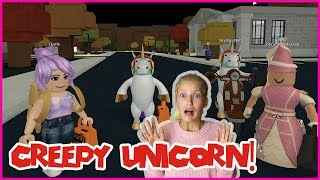 The Creepy Unicorn is ON THE LOOSE at 3 a.m. !!!
