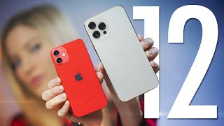 iPhone 12 Pro Max and Mini Unboxing