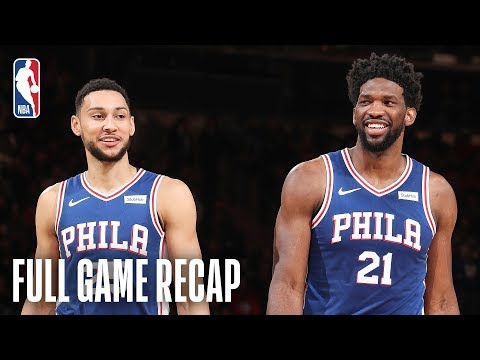 76ERS vs KNICKS | Embiid & Tobias Lead PHI | February 13, 2019