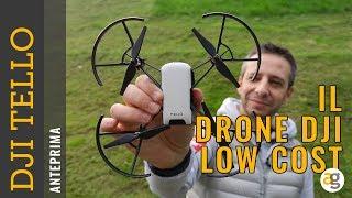 DJI TELLO il DRONE low cost ANTEPRIMA