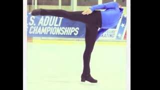 Figure Skating Moves: Camel Spin Demonstration