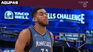 2016 NBA All Star Weekend   Taco Bell Skills Challenge   Full Highlights