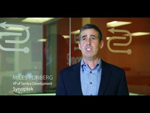 Miles Feinberg, VP of Service Development at Synoptek, discusses Synoptek's innovative approach to Managed Cloud and Security.