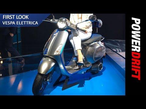 Vespa Elettrica : EICMA 2017 : PowerDrift