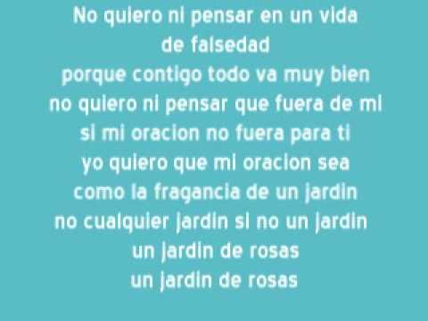 Karaoke Annette Moreno Jardin de Rosas