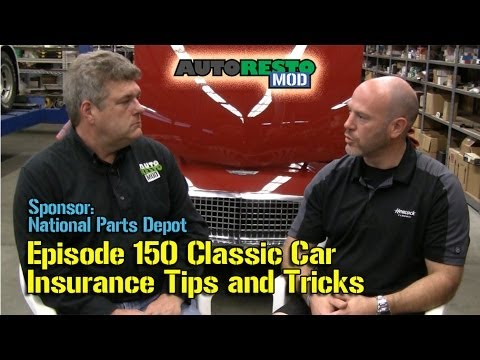 Classic Car Insurance Tips and Tricks from Heacock Insurance Episode 150 Autorestomod