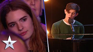 Reuben Gray sings emotional apology to Girlfriend who is in the AUDIENCE! | Britain's Got Talent