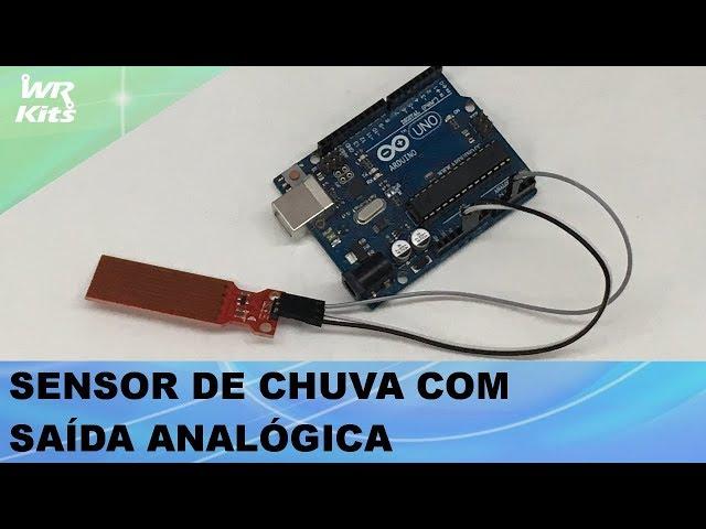SENSOR DE CHUVA COM SAÍDA ANALÓGICA