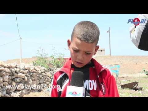 طفل صغير فقد أمه في مجزرة الجديدة: