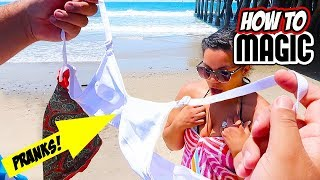 7 MAGIC BEACH PRANKS FOR SUMMER!