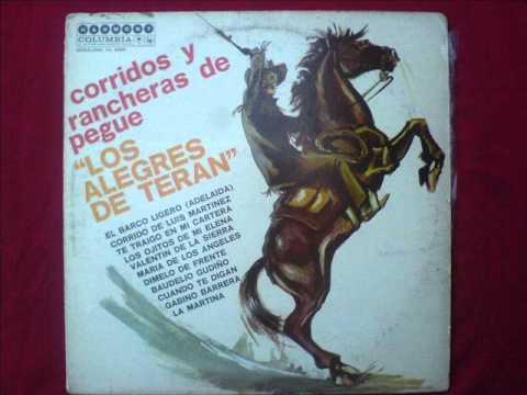 LOS ALEGRES DE TERAN - CORRIDO DE LOS MENDOZA.