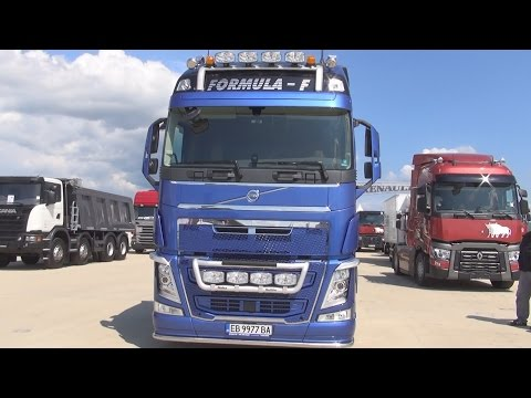Volvo FH 500 Formula-F Tractor Truck (2016) Exterior and Interior in 3D