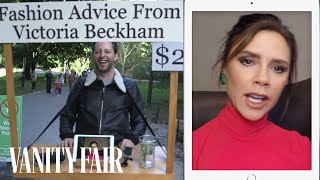 Victoria Beckham Gives Strangers Fashion Advice for $2 in Central Park | Vanity Fair