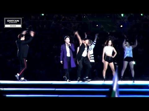 140919 INCHEON AG 2014 개막식 JYJ 축하무대 'EMPTY' (JUNSU FOCUS)