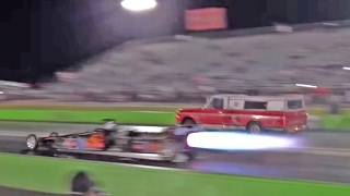 FARMTRUCK vs. JET DRAGSTER!