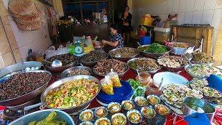 Có gì ở hàng ốc thau bán theo kí chợ Bà Hoa chỉ bán 3 tiếng là hết sạch ở Sài Gòn