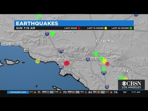 3.9-Magnitude Earthquakes Rattles Maywood Area