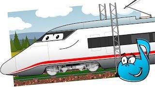 Pociąg ELEKTRYCZNY || DrobNutki || Piosenki DLA DZIECI
