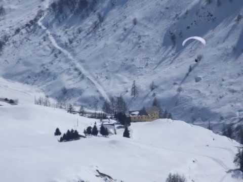 Tibert- scialpinismo e discesa in volo