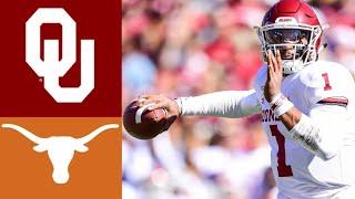 #6 Oklahoma vs #11 Texas Highlights   NCAAF Week 7   College Football Highlights