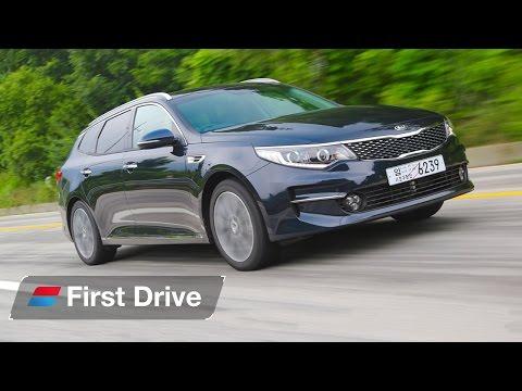 2016 Kia Optima SW 1.7 CRDi first drive review