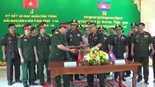 Campuchia khánh thành 6 công trình do Việt Nam viện trợ kinh phí xây dựng