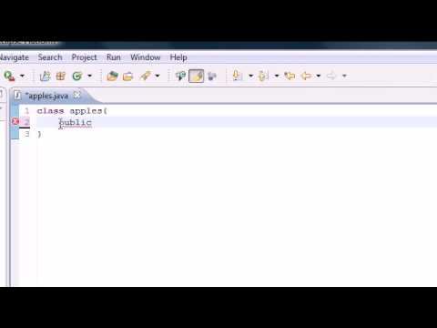 Baixar Java Programming Tutorial - 4 - Hello YouTube