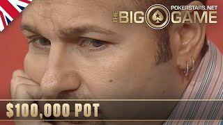 The Big Game S2 ♠️ E1 ♠️ Daniel Negreanu vs Tony G $100K POT ♠️ PokerStars UK