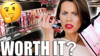 VICTORIA'S SECRET is selling MAKEUP  AGAIN??? Eyeshadow & Liquid Lips