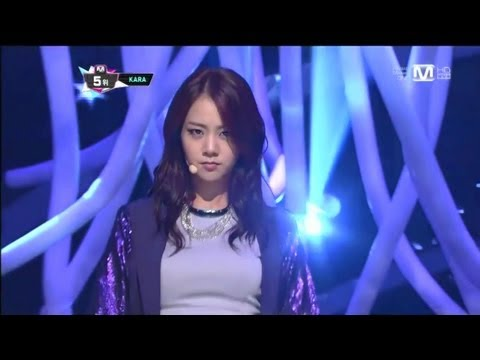 카라_ 판도라 (Pandora by KARA @Mcountdown 2012.09.27)