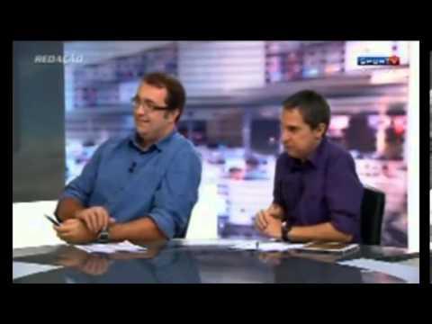 Redação SporTV: Andre Rizek fala via Skype com Nuno Matos ( 21/11/2013 )