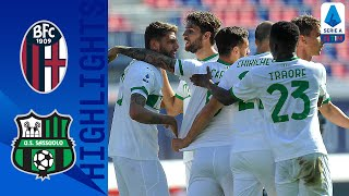 Bologna 3-4 Sassuolo | Sassuolo Come From Behind Twice in 7-Goal Thriller! | Seria A TIM