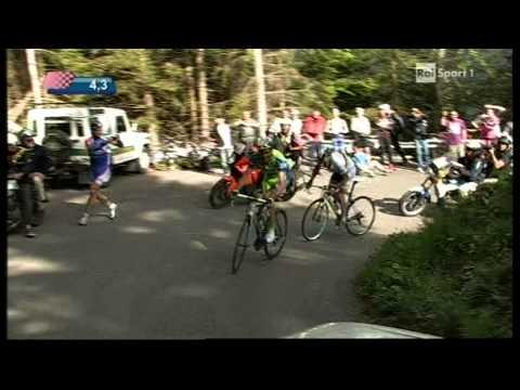 Giro d'italia 2010 - 15/a tappa, arrivo sul monte zoncolan - ivan basso