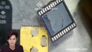 iPhone X Face ID infrared camera break line repair