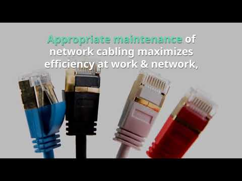 Why should an Enterprise needs proper management of Network Cabling Services?