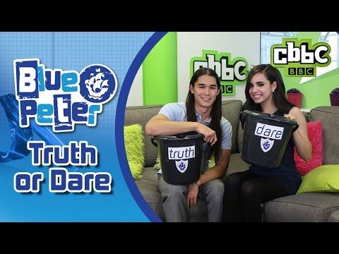 Disney's Descendants Truth or Dare Challenge - CBBC Blue Peter