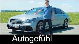 Mercedes S63 AMG FULL REVIEW S-Class Facelift S-Klasse 2018 - Autogefühl