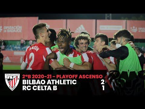⚽ Resumen I 2ªDiv B – Playoff ascenso Segunda División I Bilbao Athletic 2-1 RC Celta B I Laburpena