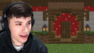GeorgeNotFound Builds A House During Dream SMP War...
