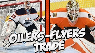 Edmonton Oilers Trade Cam Talbot to Philadelphia Flyers For Anthony Stolarz | Trade Breakdown