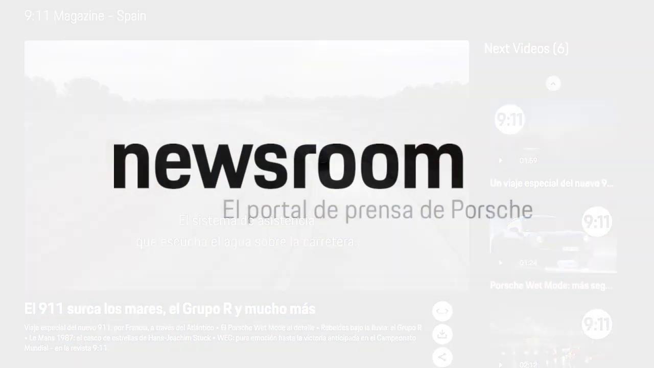 Newsroom - El portal de prensa de Porsche