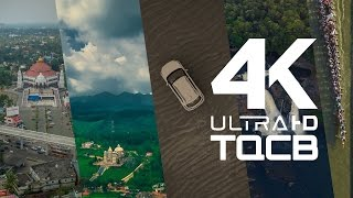 Kerala - God's Own Country | Aerial (Drone) Video in 4K - Helicam