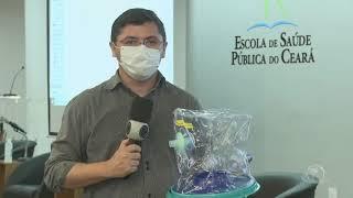 Capacete para o tratamento da Covid-19 teve a eficiência clínica comprovada   Jornal da Cidade