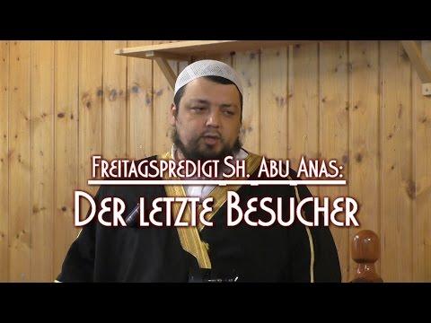 DER LETZTE BESUCHER mit Sh. Abu Anas am 04.12.2015 in Braunschweig