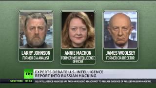 'Insider leaks, not Russian hacking': CIA & MI5 veterans discuss ODNI report (DEBATE)